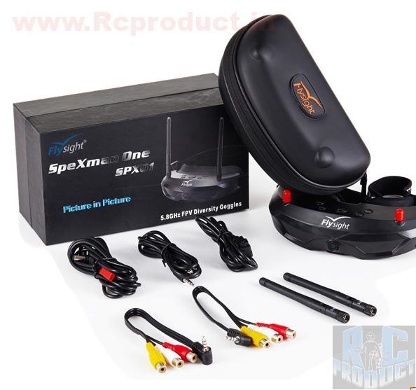 FlySight Spexman 2 5.8Ghz Diversity Fpv Goggles - 40Ch