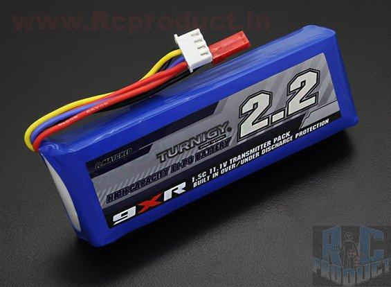 Turnigy 9XR lipo tx pack